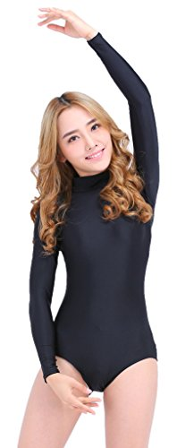 Speerise Long Sleeve Adult Ballet Dance Leotards