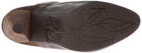 Fly London Gena, Women's Biker Boots Kahki/Forest/Cog/Mesh/Sludge