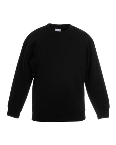 Fruit of the Loom - Sweat à capuche - Femme petit -  Noir - Noir - XXL
