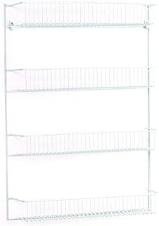 ClosetMaid 8033 4-Tier Wall Rack 18-Inch Wide  sc 1 st  Amazon.com & Amazon.com: ClosetMaid 1233 Adjustable 8-Tier Wall and Door Rack 76 ...