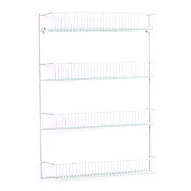 ClosetMaid 8033 4-Tier Wall Rack, 18-Inch Wide