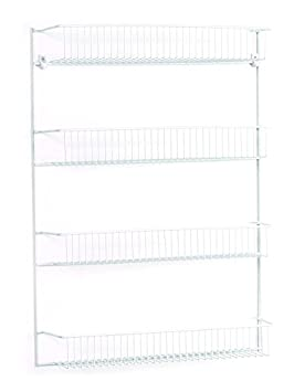 ClosetMaid 8002 2-Tier Wall Rack, 12-Inch Wide