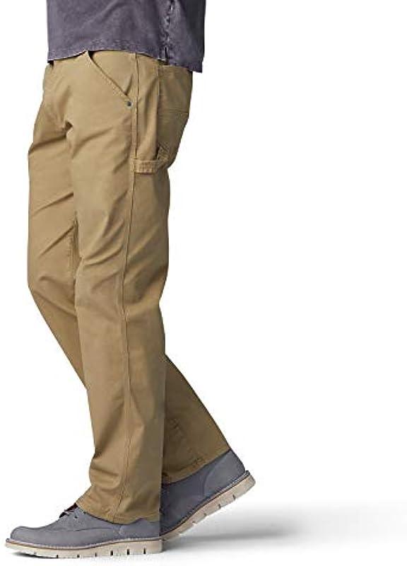 Lee Performance Series Extreme Motion Loose Fit Carpenter dżinsy męskie: Odzież