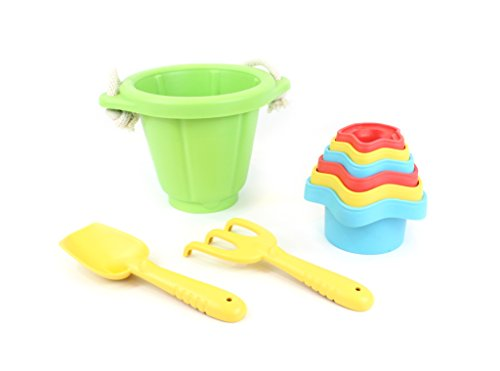 Green Toys Sand Play Stacking product image
