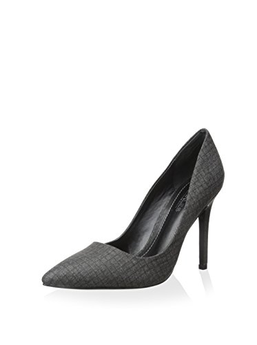 Charles By Charles David Women's Phoebe Pumps, Grey-CF Check Flannel, 8 ()