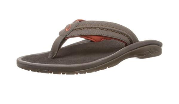 183ab1df61fc Amazon.com  OLUKAI Men  s Hokua Surfing Flip-Flop Sandals  Shoes