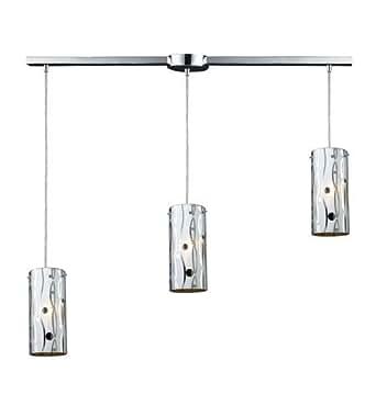 Pendants 3 Light With Polished Chrome Finish Medium Base 36 inch 180 Watts - World of Lamp