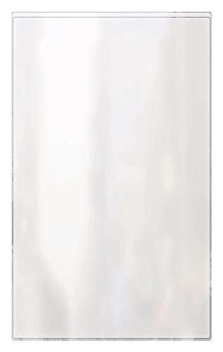 - RABCO Products, Inc 100 8.5x14 All Clear Heat Sealed Vinyl Menu Cover Single Pocket 2 View, 8.5