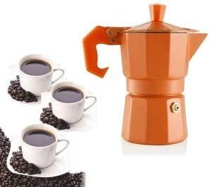Cafetera italiana para 3 tazas de café COLORS FUN - WELKHOME ...