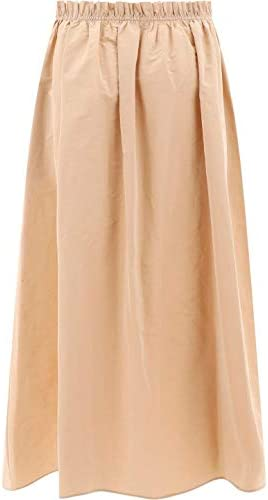 Givenchy Fashion Woman BW40DU12UL295 Beige Polyester Skirt | Spring Summer 20