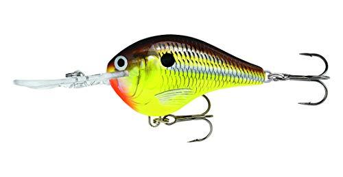 (Rapala Dives-To 04 Fishing lure, 2-Inch, Hot Mustard)