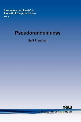 Pseudorandomness (Foundations and Trends in Theoretical Computer Science) by Now Publishers Inc