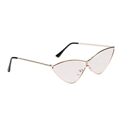 Style MagiDeal De Sunglasses Unisexe Soleil bronzage Décontracté Lunette Rétro Triangle Mode léger En rqqYBCxw