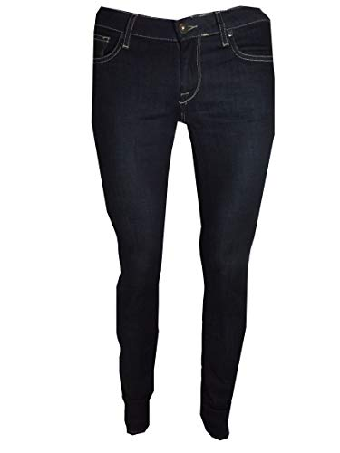 Da Bassa Elasticizzati Fit Skinny Jeans Pot Donna 32 27 Denim Blu Meltin' Pantaloni Vita Mika q8tBwWZ