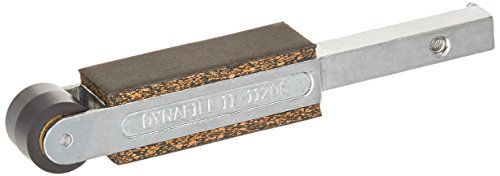 Dynabrade 11206 3/4-Inch Diameter By 5/8-Inch Wide Contact Arm Ass'y, Rubber Wheel with 3/4-Inch Wide Platen, Silver