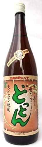 どっとん 25度 麦 1.8L [瓶] [岡永/赤嶺酒造/大分県]※送料無料