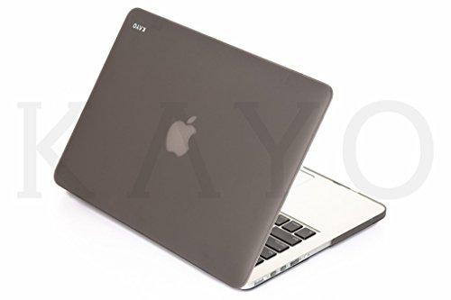 - KAYO - Rubberized Hard Case for Older MacBook Pro 15.4