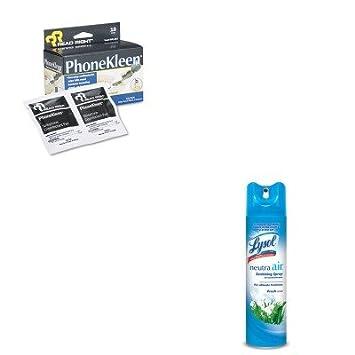 kitrac76938earearr1203 - Value Kit - leer derecho phonekleen toallitas húmedas (rearr1203) y neutra aire fresco aroma (rac76938ea): Amazon.es: Oficina y ...