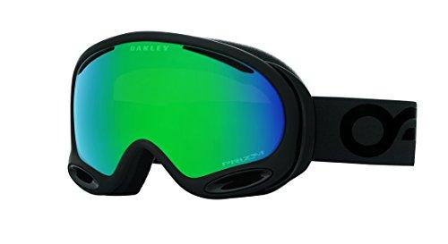 Oakley A-Frame 2.0 Goggles, Factory Pilot Blackout, Prizm Jade Iridium, - Goggles Oakley Iridium