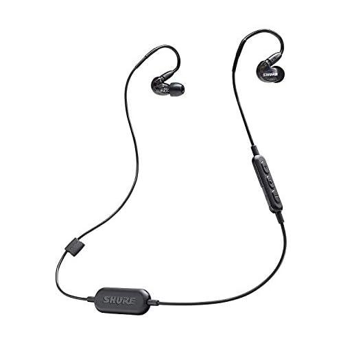 chollos oferta descuentos barato Shure SE215 K BT1 EFS Auriculares inalámbricos color negro