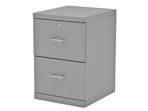 Z-Line Designs ZL2255-2GVU 2 File Cabinet, 2 Drawer Vertical, Grey by Z-Line Designs