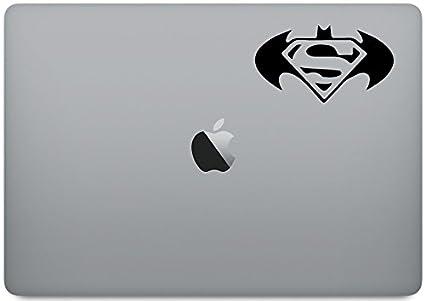 Amazoncom Batman Superman Wings Logo Laptop Skin Vinyl Decal