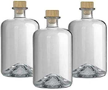 Korken Bast Schrumpfkapsel gold VERSAND INNERHALB 24 STD! 9x Profi Set Apotheker Flaschen leer 700 ml Glasflaschen m