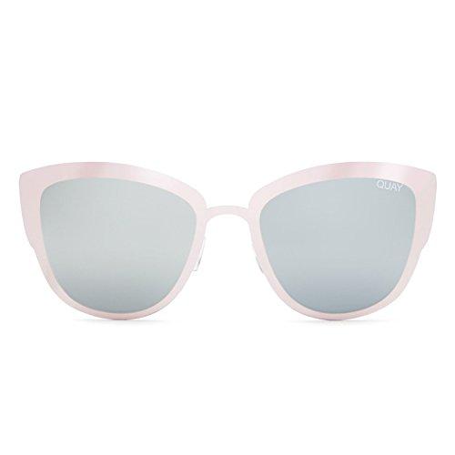Quay Australia SUPER GIRL Women's Sunglasses Oversized Cat Eye Flashy - - Super Cool Sunglasses