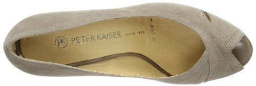 64107 310 Kaiser Crakle para Beige tacón Peter mujer Suede 310 de de Zapatos ELFE Taupe Beige cuero qtfZZwxdE