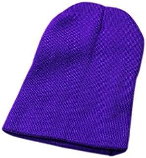 SODIAL(R) Cappello Berretto Invernale Berretto Invernale Caldo (Arancione brillante) 054956B4