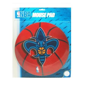 NBA New Orleans Hornets Basketball Design Mouse Pad