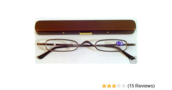 3003dd00d64 Amazon.com  Optical Reading Glasses with Case Ultra Thin Compact  Health    Personal Care