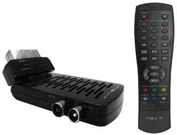 Nevir NVR-2559DS - Sintonizador digital terrestre, TV y radio, control parental, scart giratorio 180º: Amazon.es: Electrónica