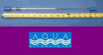 8w Ultraviolet Replacement Aqua - Aqua Ultraviolet AAV20057 Mercury Quartz Lamp for Aquarium, 57-watt