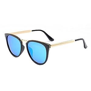 Polarized Women's Trend Sunglasses Sun Driving Mirror Network Red Star Cross Sunglasses 7012,1