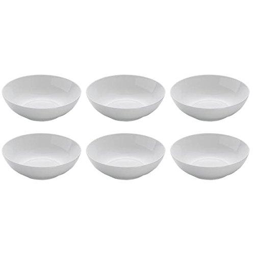 20cm H 6,5cm wei/ß Maxwell /& Williams 6er Set Pastateller White Basics Round D