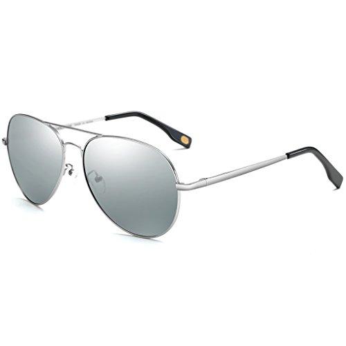 Designer Men's Retro Unisex 80s Gafas E Aviator Shades de Ladies Estilo Color sol Lente UV400 Sunglasses B MAN Fashion vPXqxx