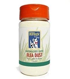 DERMagic Diatomaceous Earth Flea Dust (2 oz), My Pet Supplies
