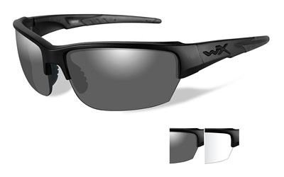 Wiley X Valor Sunglasses (Smoke Grey Lens, Matte Black - Sunglasses Wiley