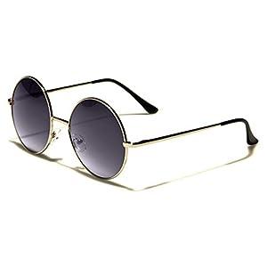 Oversized Round Frame Retro Vintage 70's Sunglasses