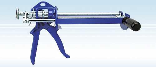Wellmade Tools 3345 Dual Cartridge Manual Epoxy Applicator, 300ml  x 150ml - Manual Applicator