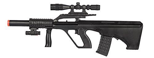 UKARMS AUG STG 77 Spring Airsoft Rifle Gun FPS 230