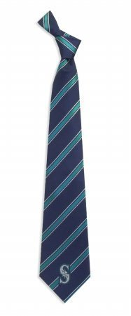 Seattle Mariners Woven Polyester Necktie