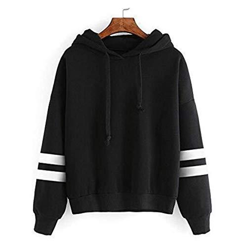 Delicacydex Automne et Hiver lache Manches Longues Hoodies pour Les Femmes Chaudes Pulls  Capuche en Coton, Plus Velours Sweatshirts