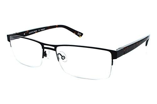Austin Reed M06 Mens Eyeglass Frames - Matte Black/Gloss - Optical Reed