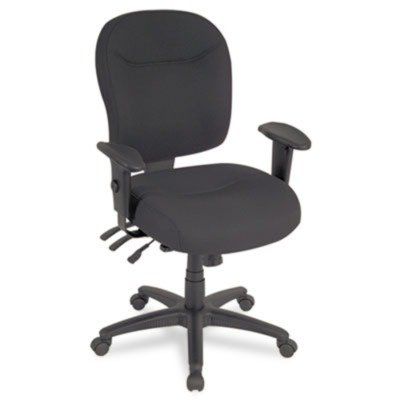 o Alera o - Wrigley Series Mid-Back Multifunction Chair with
