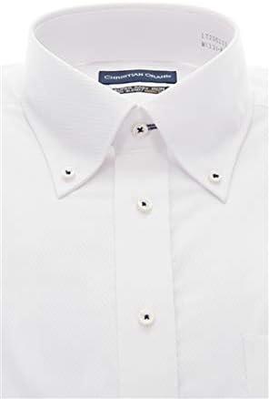 (クリスチャン オラーニ)CHRISTIAN ORANI オールシーズン用 ボタンダウンスタンダードワイシャツ LT200103