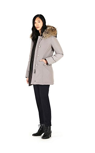 Slim Parka Giubbino 18 Luxury 17 Arctic Sm20 Woolrich Coffee W's Wwcps2131 Donna 7204 Fw qvfOBE