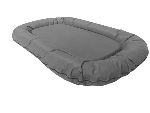 eConsumersUSA Dog Bed with Solid Memory Foam Pad filling; Du