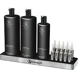 Awapuhi Wild Ginger Repair Kit- Shampoo & Conditioner liter, Intensive Treatment 16.9oz, 10 count Keratriplex ampules